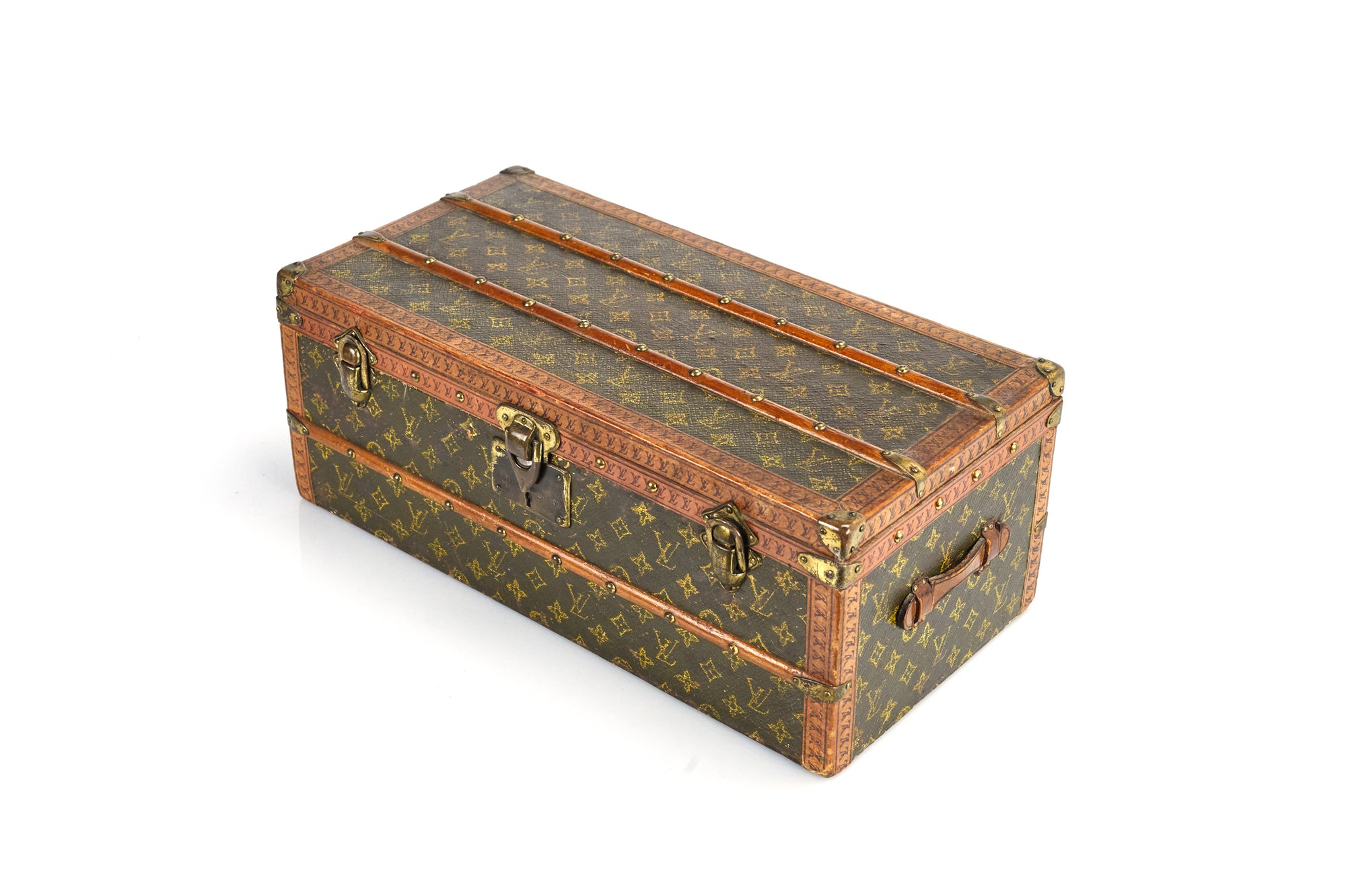 Rare Miniature Louis Vuitton Trunk