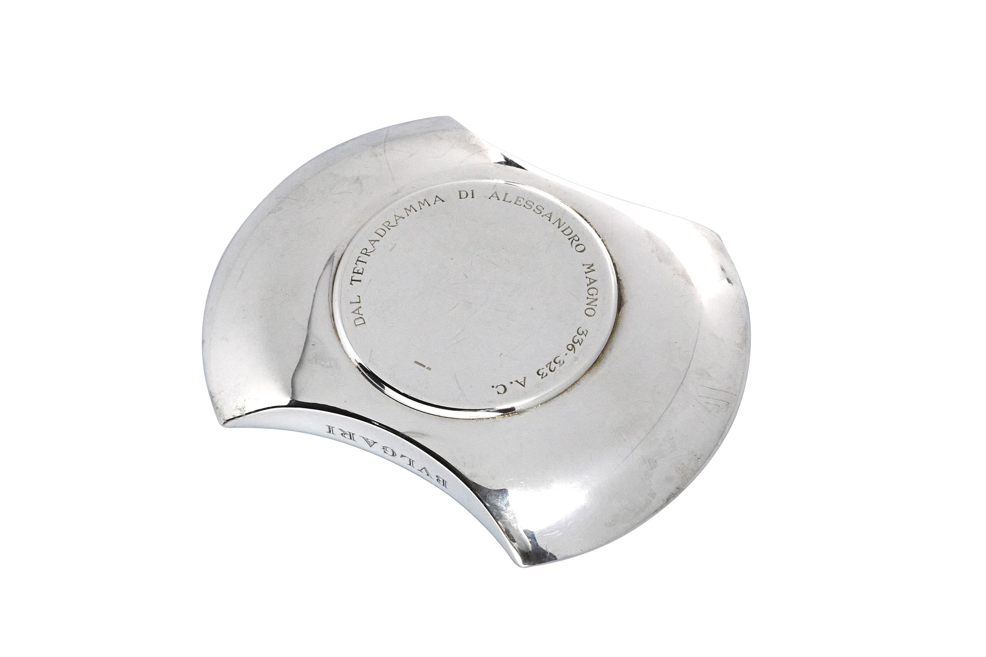 Bvlgari Sterling Coin Dish