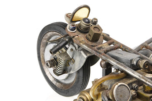 Hand-made Motorcycle Sculpture