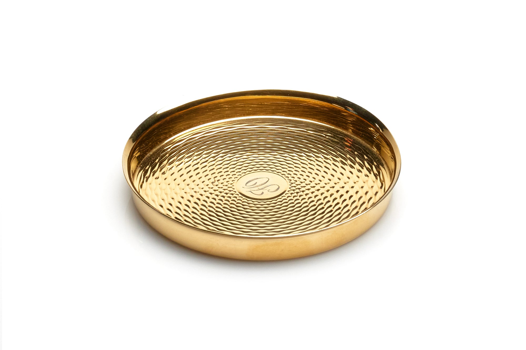 Hermes Vermeil Bottle Coaster