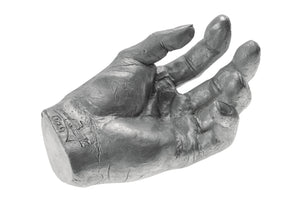 Cast Aluminum Hand Sculpture, French