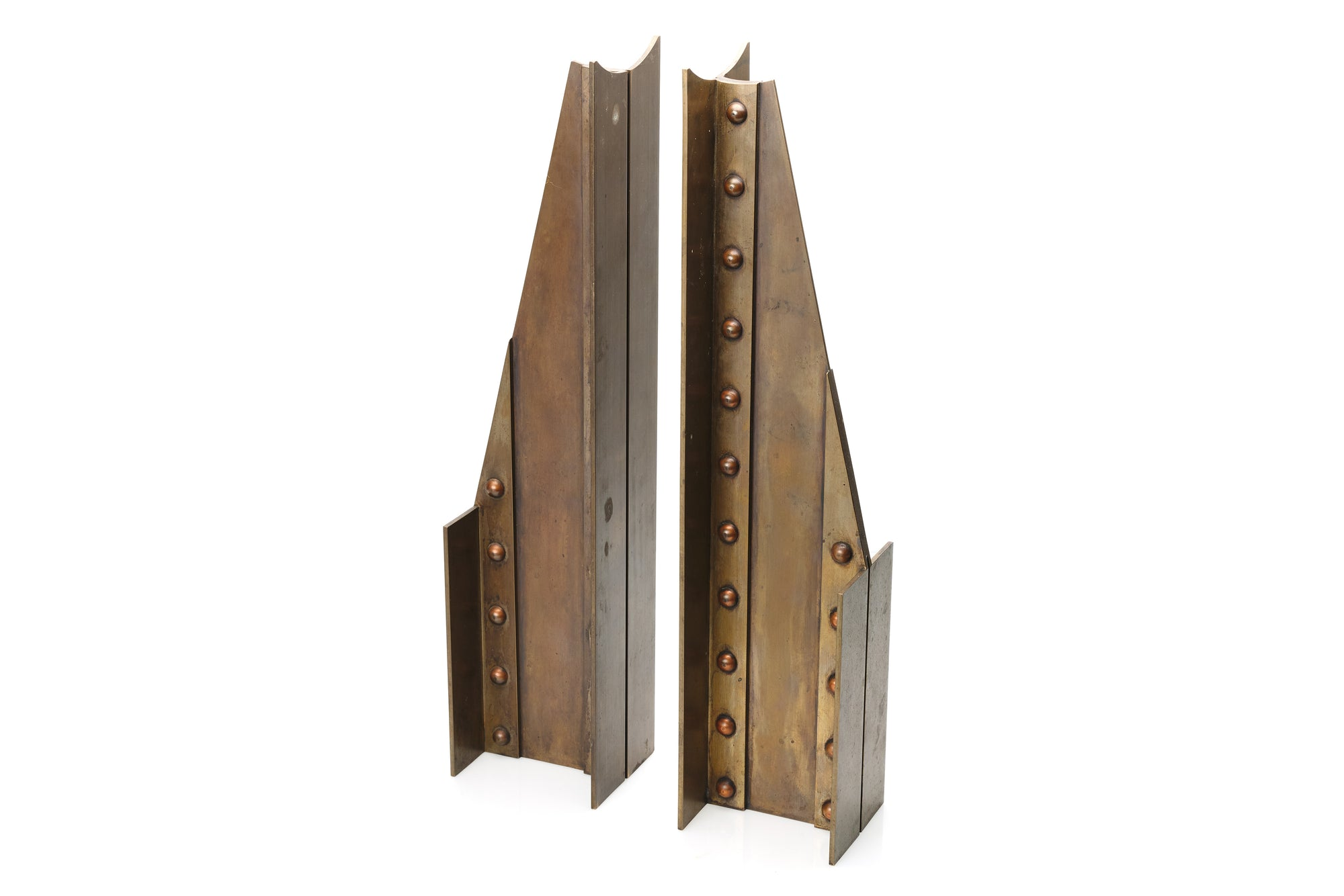 Giant Steel Girder Bookends