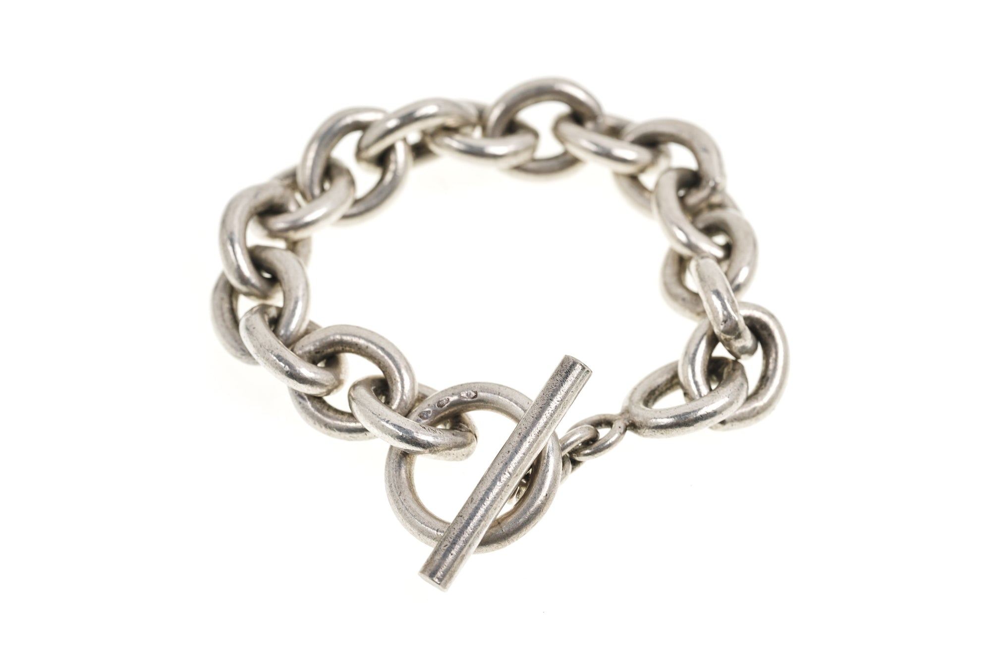 Sterling Silver Bracelet, French