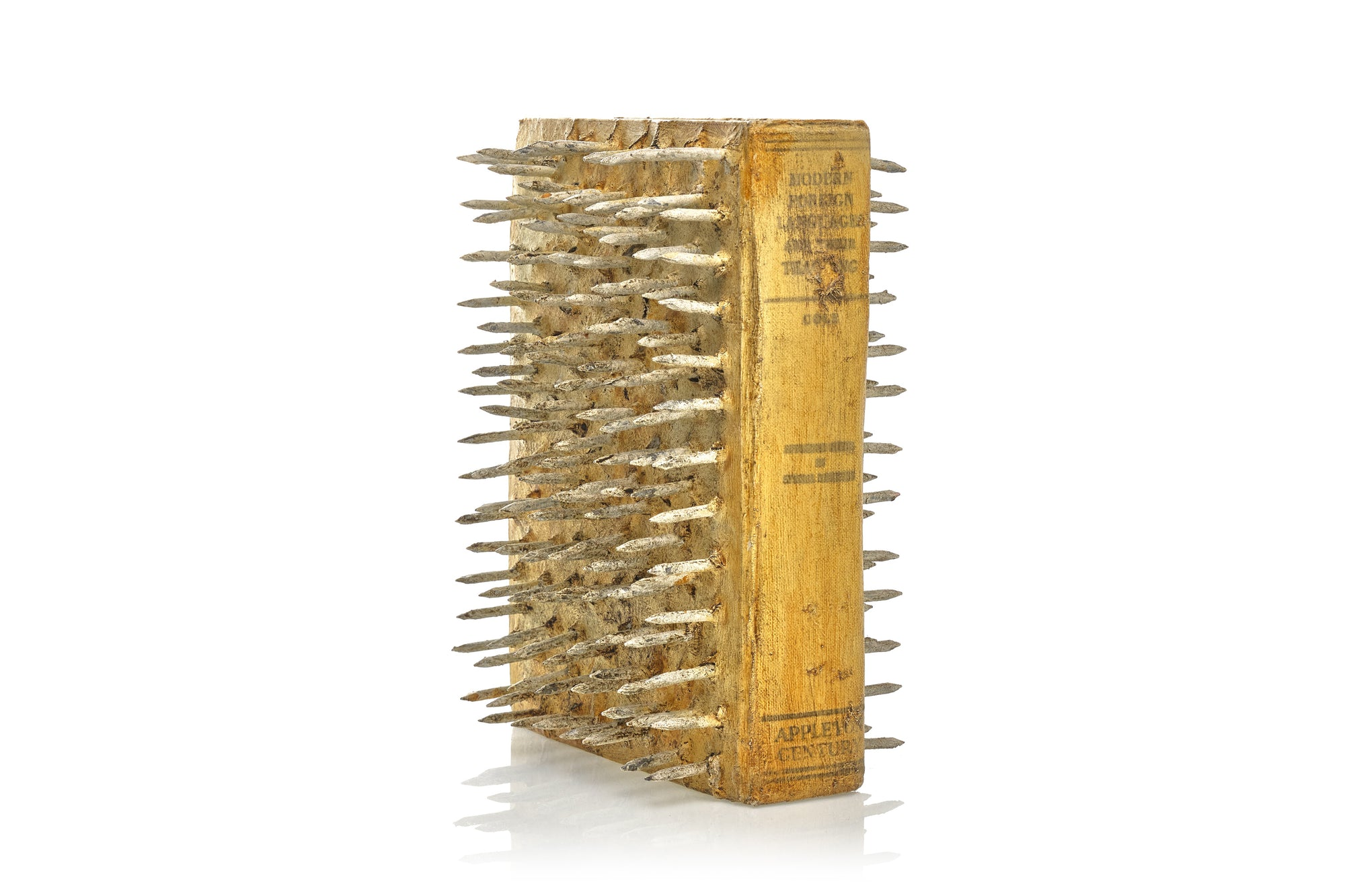 BARTON LIDICE BENES BOOK SCULPTURE
