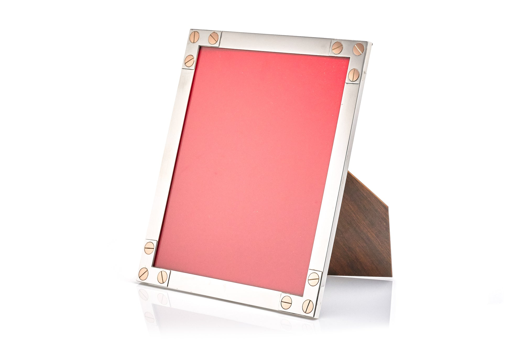 Sterling Silver & Rose Gold Picture Frame