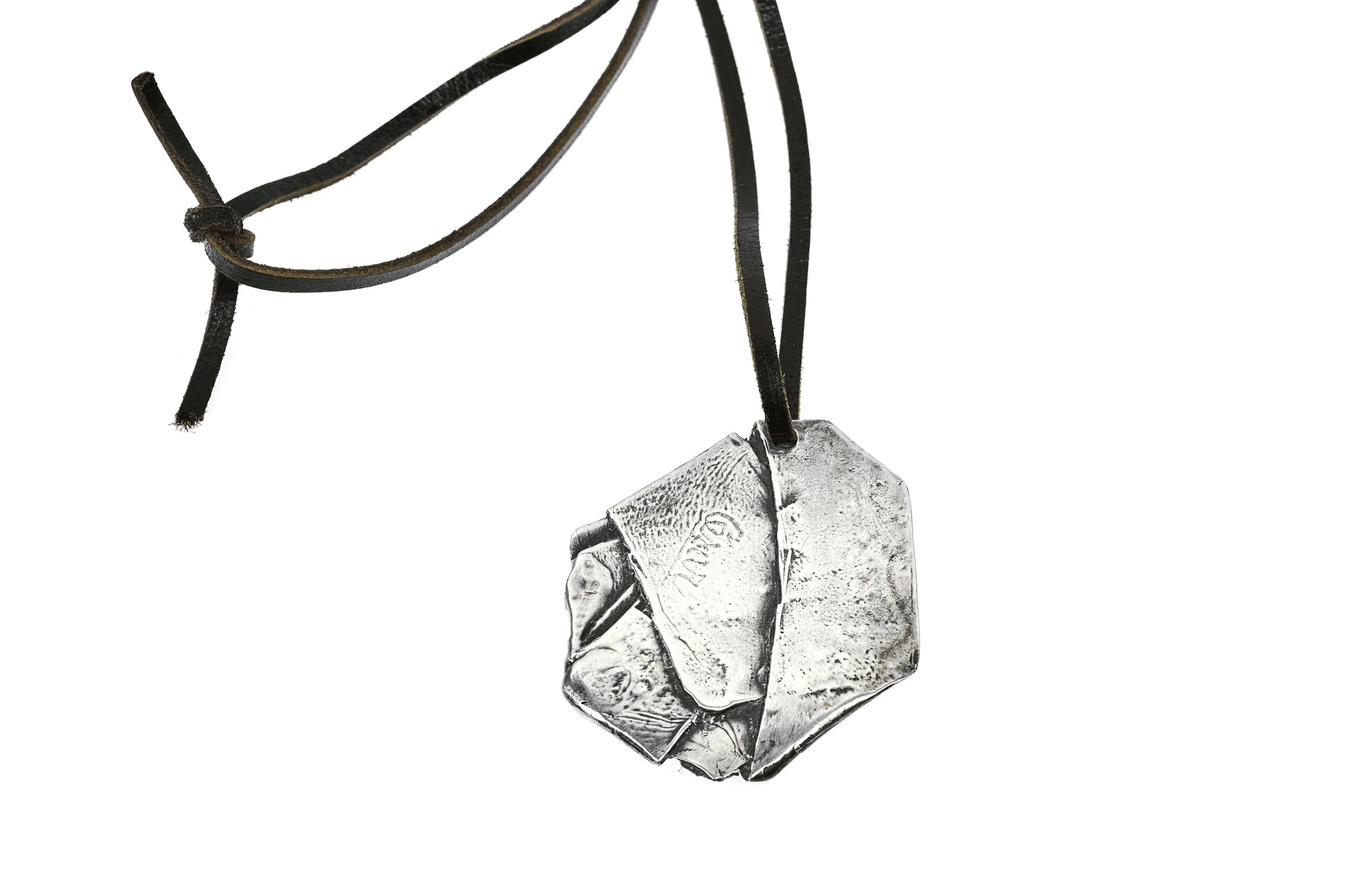 Cesar Compression Pendant, Sterling Silver