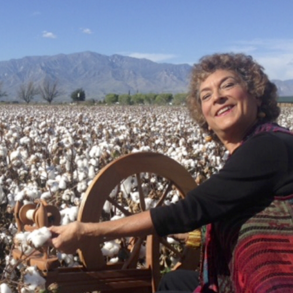 Episode 27: Weaving with Cotton with Irene Schmoller of Cotton Clouds