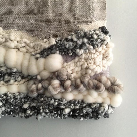 I love the textures and mix of materials by Maddison West Wilkerson ~ @westdomestic.