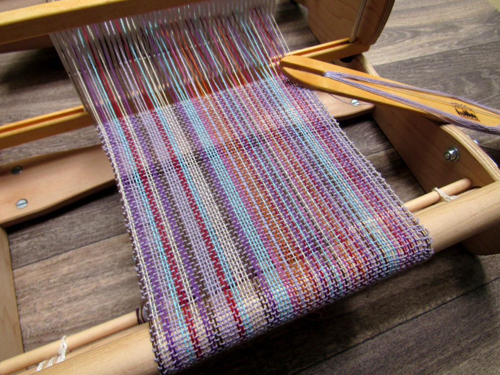 free cotton scarf rigid heddle weaving pattern