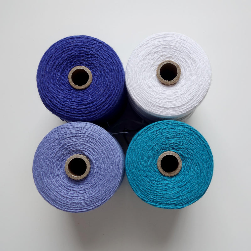 cotton yarn for rigid heddle weaving