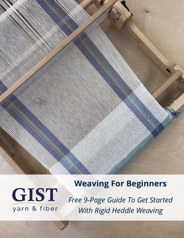 Weaving For Beginners - Free Guide To Get Started Rigid Heddle Weaving