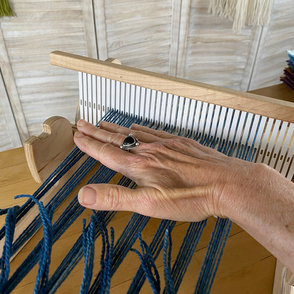 how to fix tension issues on rigid heddle looms