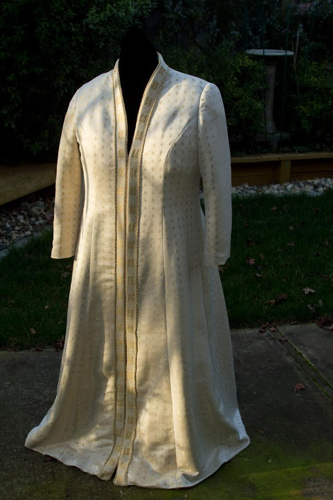 tien chiu handwoven wedding dress