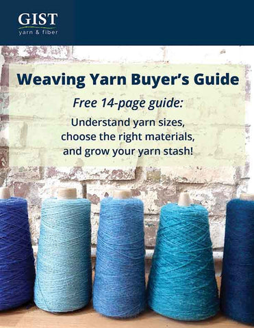weaving yarn buyers guide