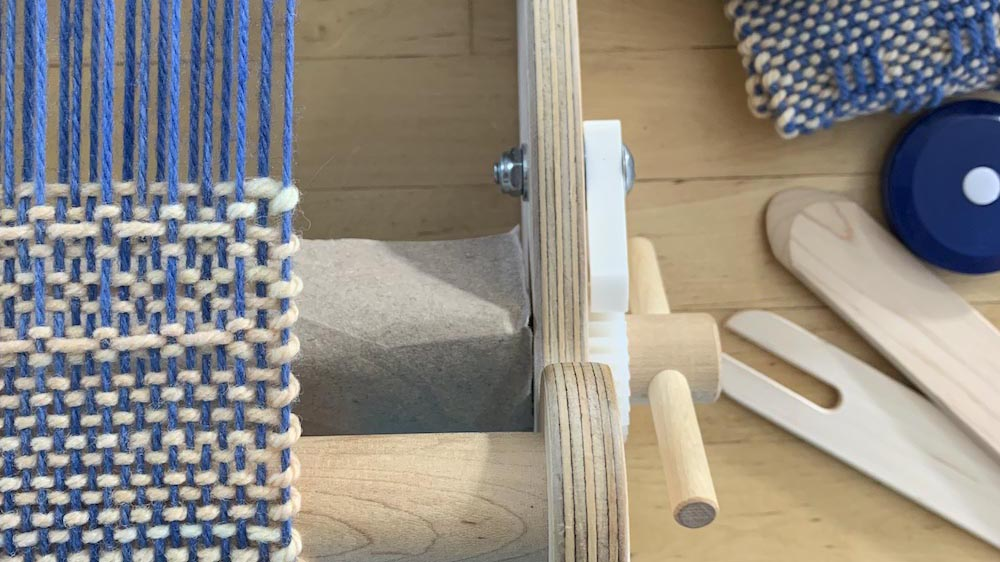 how to weave with pick up sticks