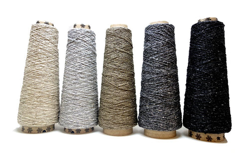 sparkly weaving yarn
