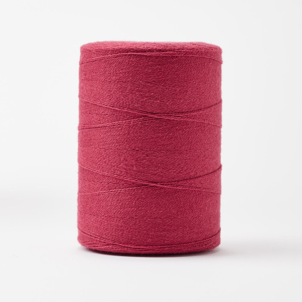 8/2 Un-Mercerized Cotton Weaving Yarn Raspberry