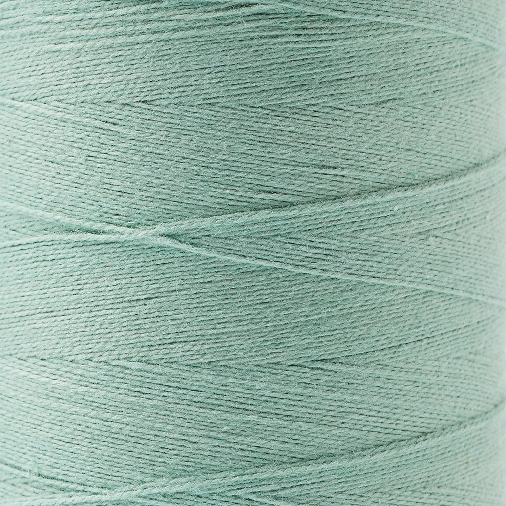 8/2 Un-Mercerized Brassard Cotton Weaving Yarn ~ Sage, bundle_swatch