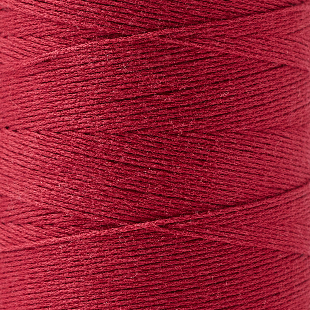8/4 cotton weaving yarn raspberry
