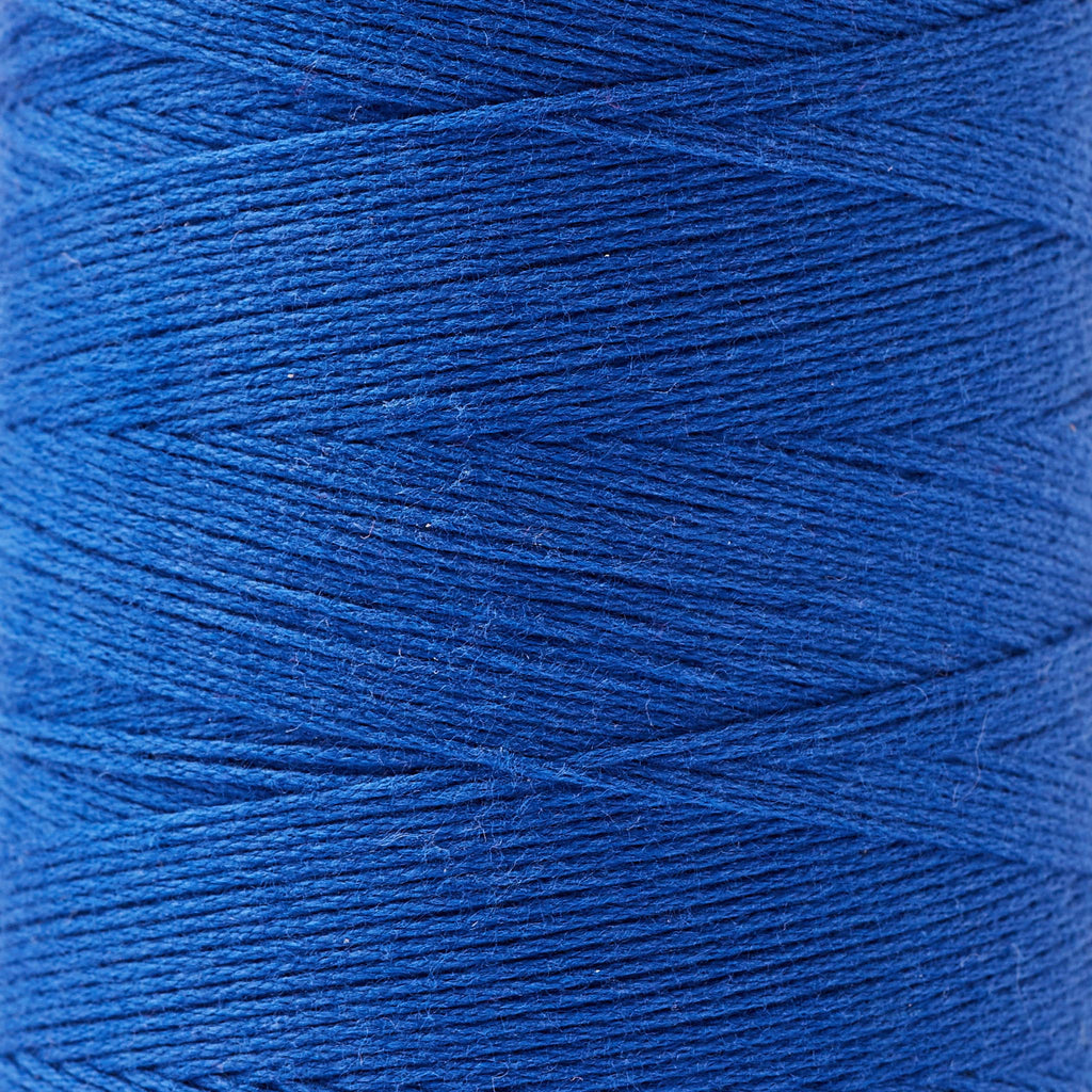 8/4 cotton weaving yarn royal blue