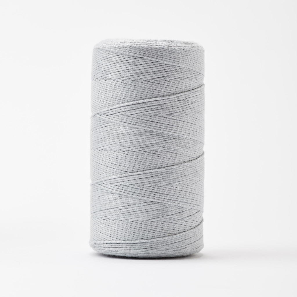 8/8 cotton weaving yarn light gray