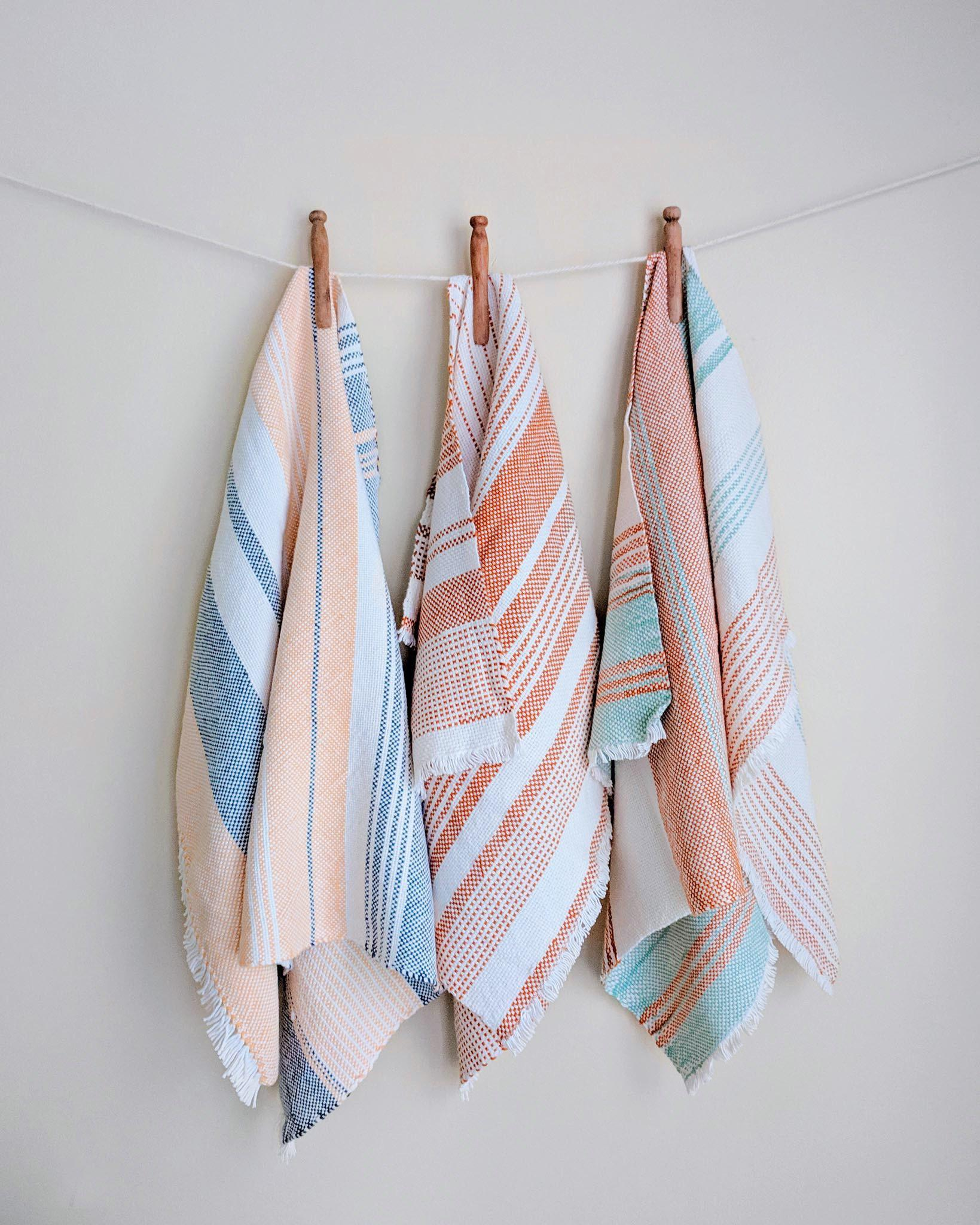 Skyline Towels Weaving Pattern