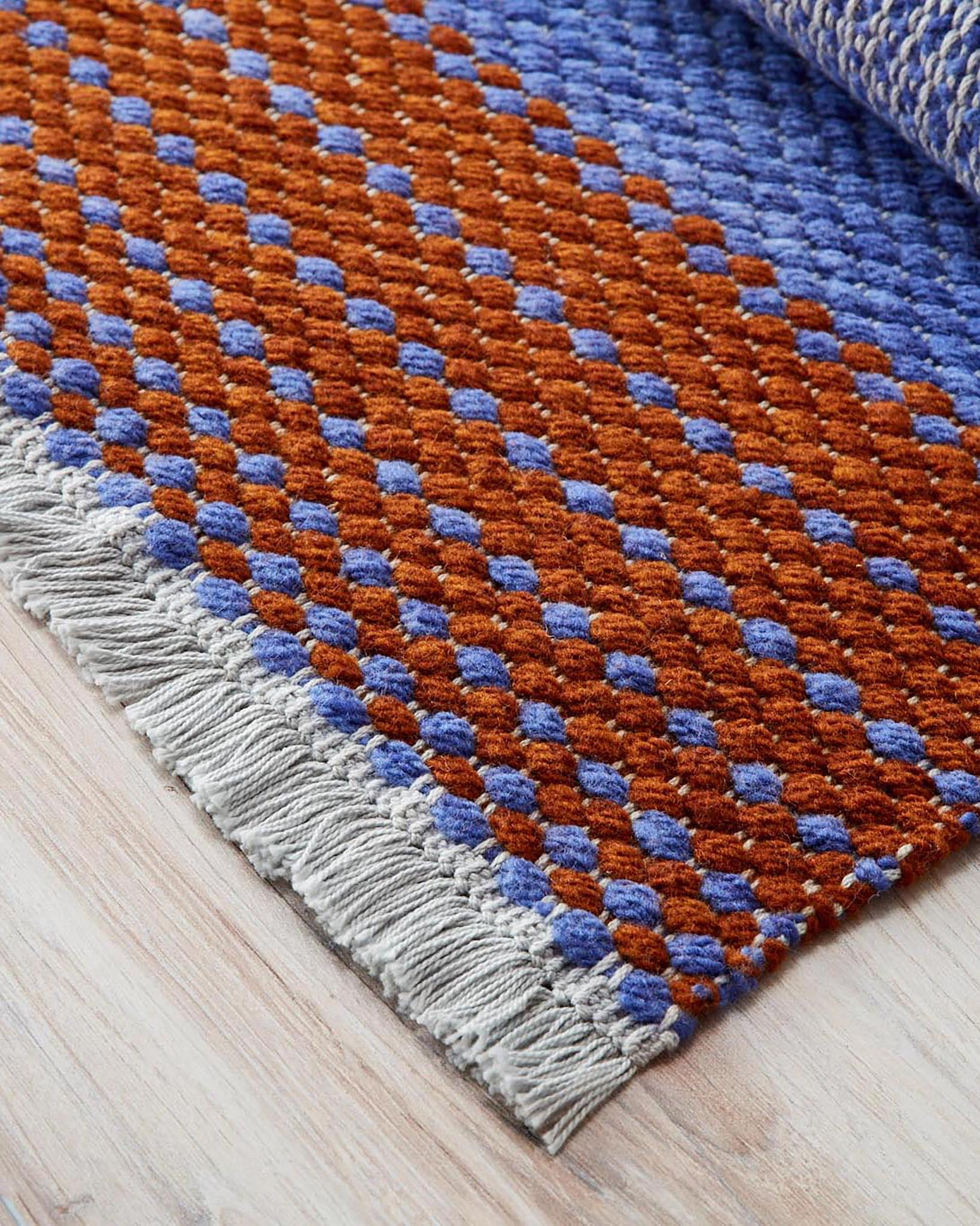 Basketweave Rug Rigid Heddle Weaving Pattern