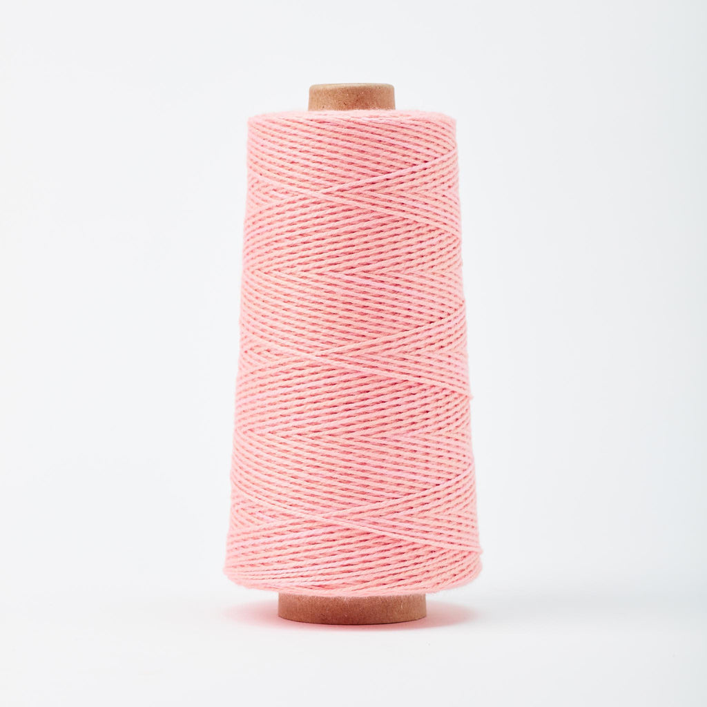 Beam 3/2 Organic Cotton Weaving Yarn ~ Blush