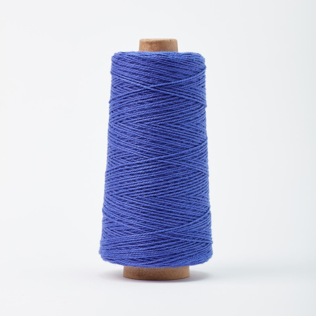 Beam 3/2 Organic Cotton Weaving Yarn ~ Cobalt