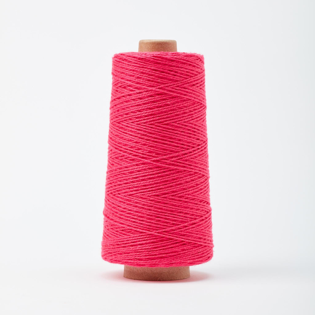 Beam 3/2 Organic Cotton Weaving Yarn ~ Hibiscus