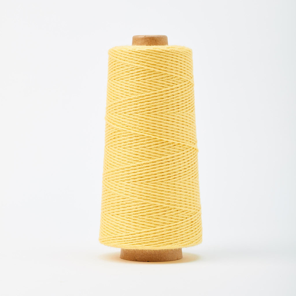 Beam 3/2 Organic Cotton Weaving Yarn ~ Lemon