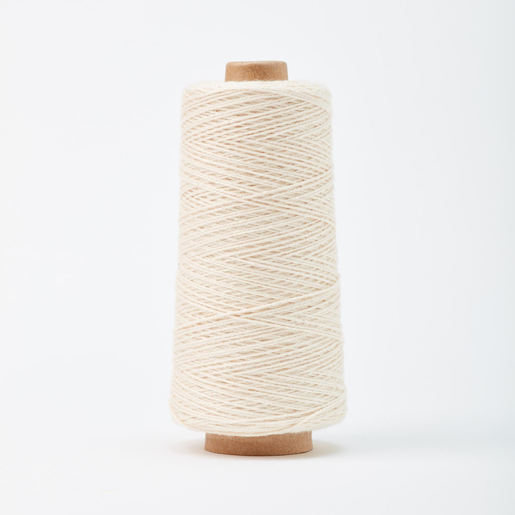 Beam 3/2 Organic Cotton Weaving Yarn ~ Natural