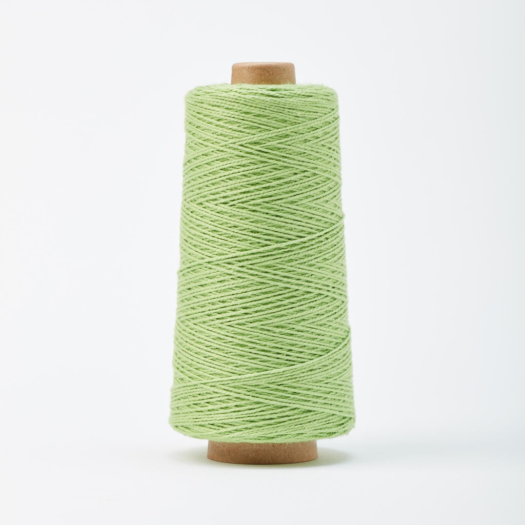 Beam 3/2 Organic Cotton Weaving Yarn ~ Pistachio
