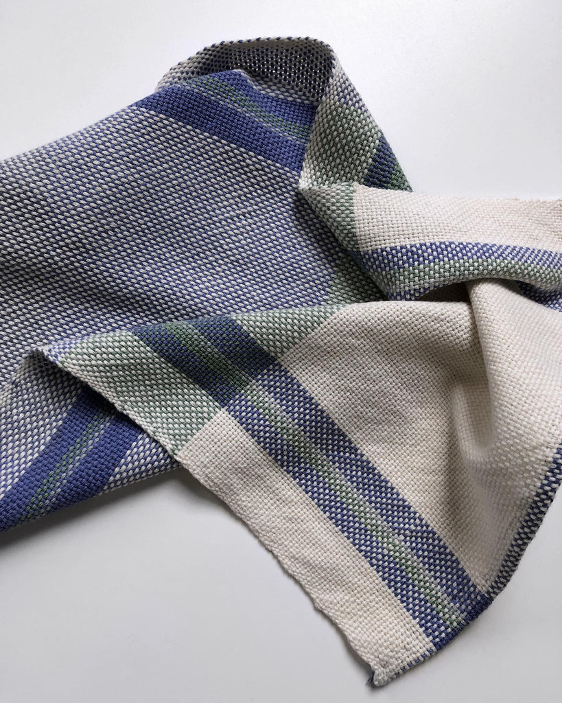 Three Sets of Rigid Heddle Towels Deluxe Kit ~ Blues