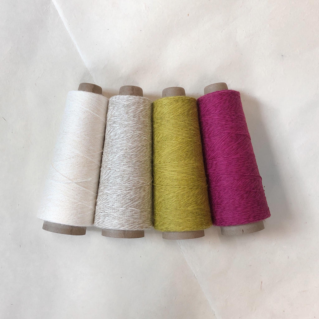 Three Sets of Rigid Heddle Towels Deluxe Kit ~ Brights