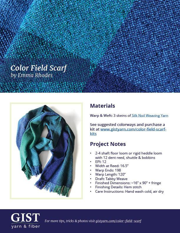 Color Field Scarf Kit ~ Noland