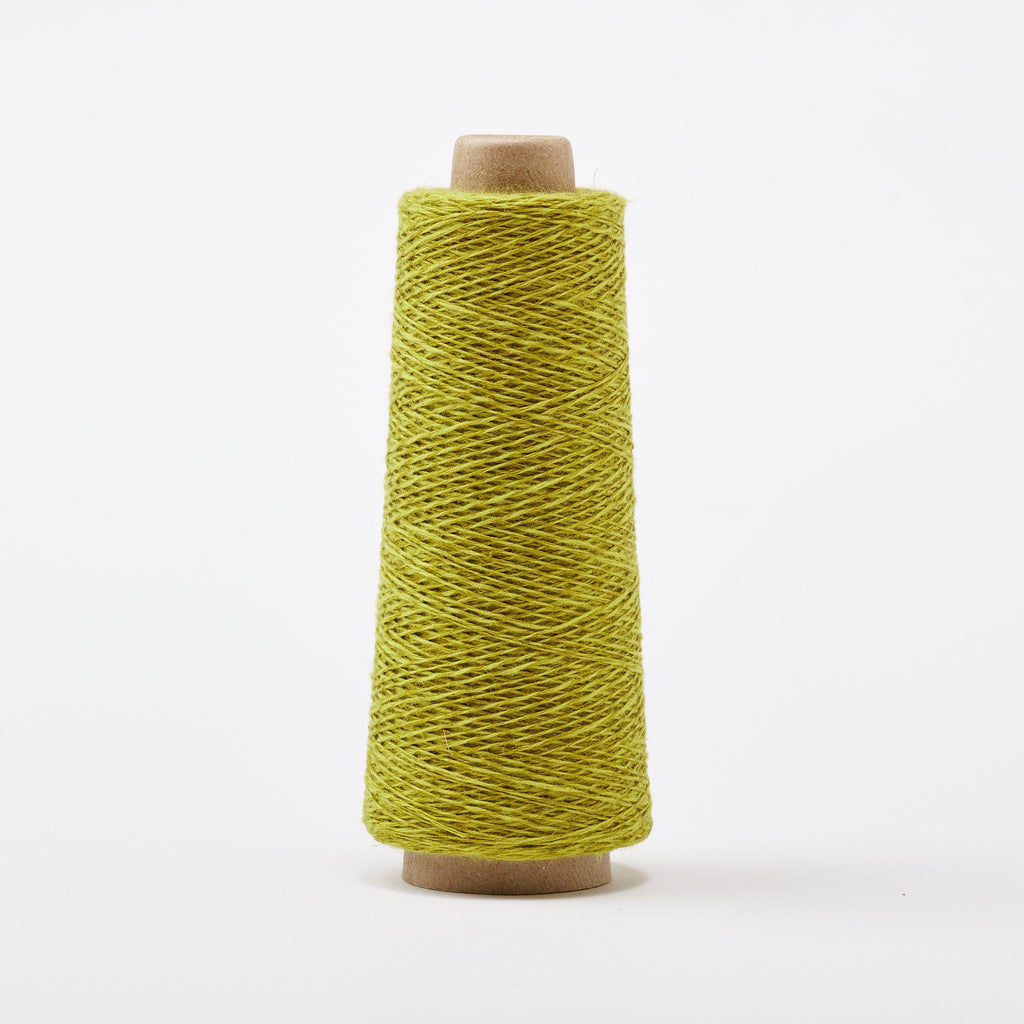 Duet Cotton Linen Weaving Yarn Pear