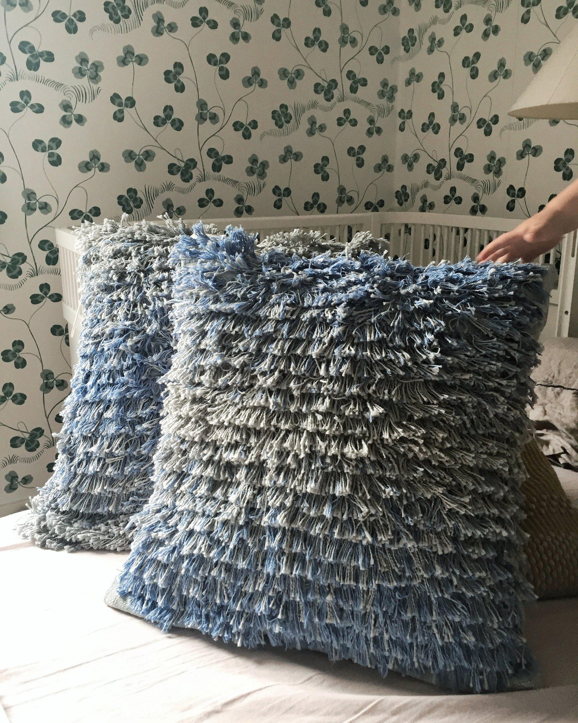 Gosling Pillows Rya Weaving Pattern
