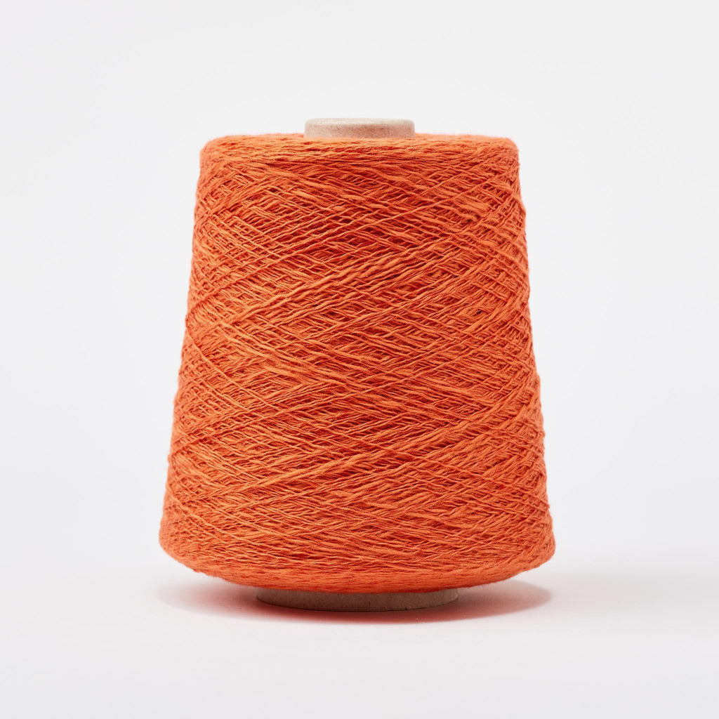 Italian Cotton Linen Weaving Yarn Clementine