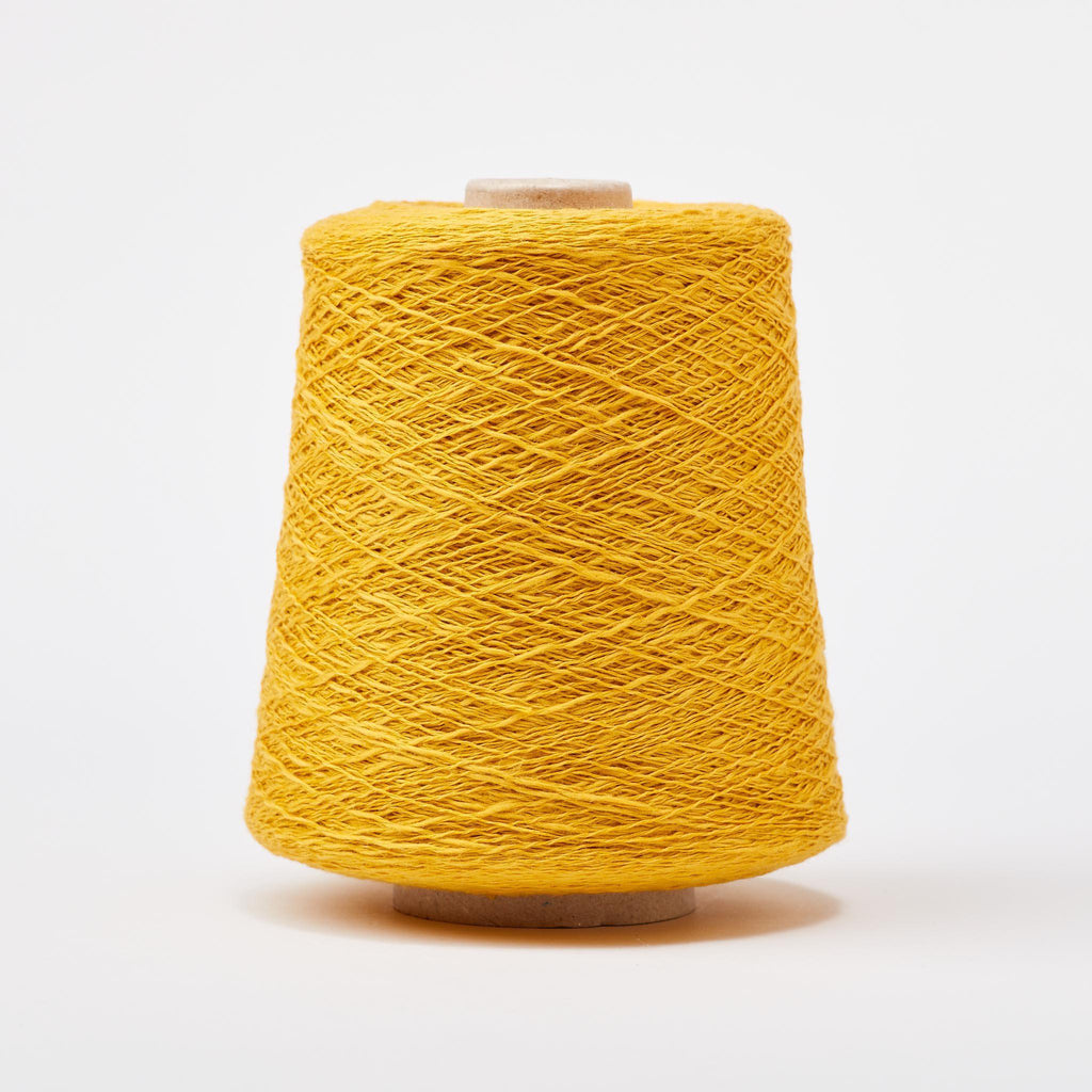 Italian Cotton Linen Weaving Yarn Goldenrod