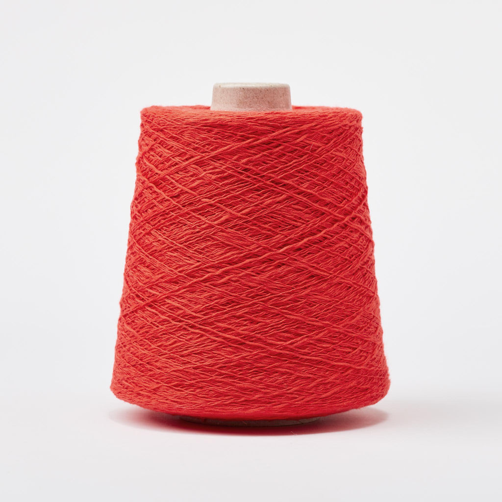 Italian Cotton Linen Weaving Yarn Poppy