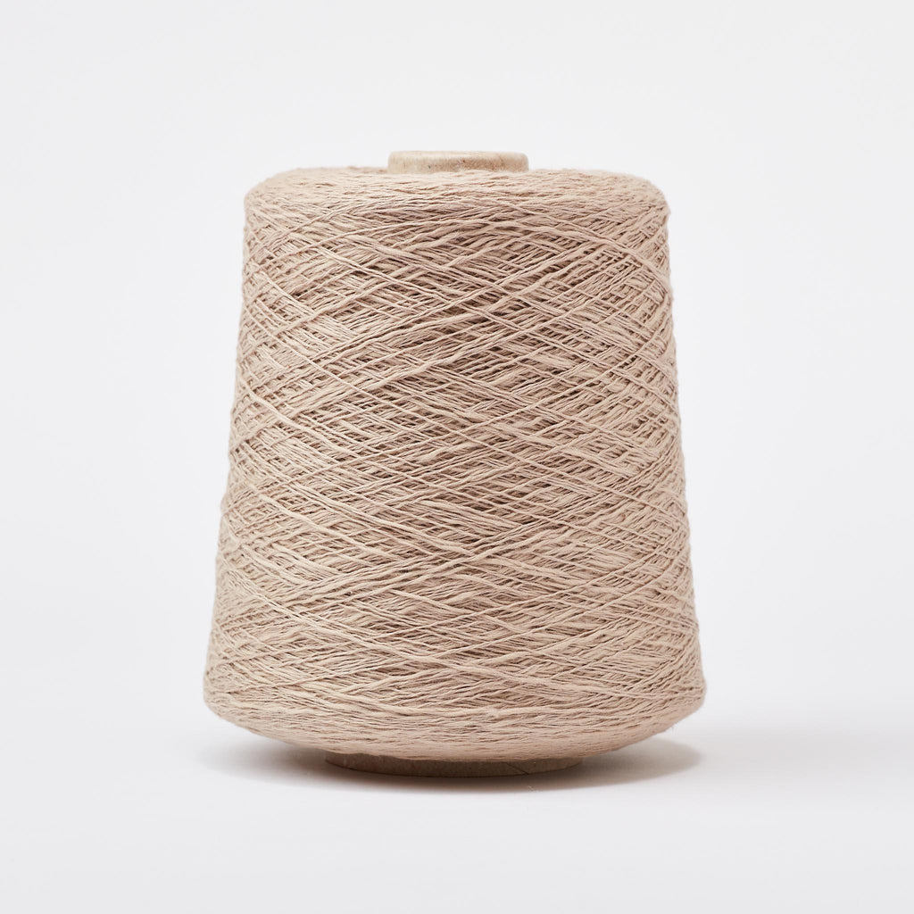 Italian Cotton Linen Weaving Yarn Sand