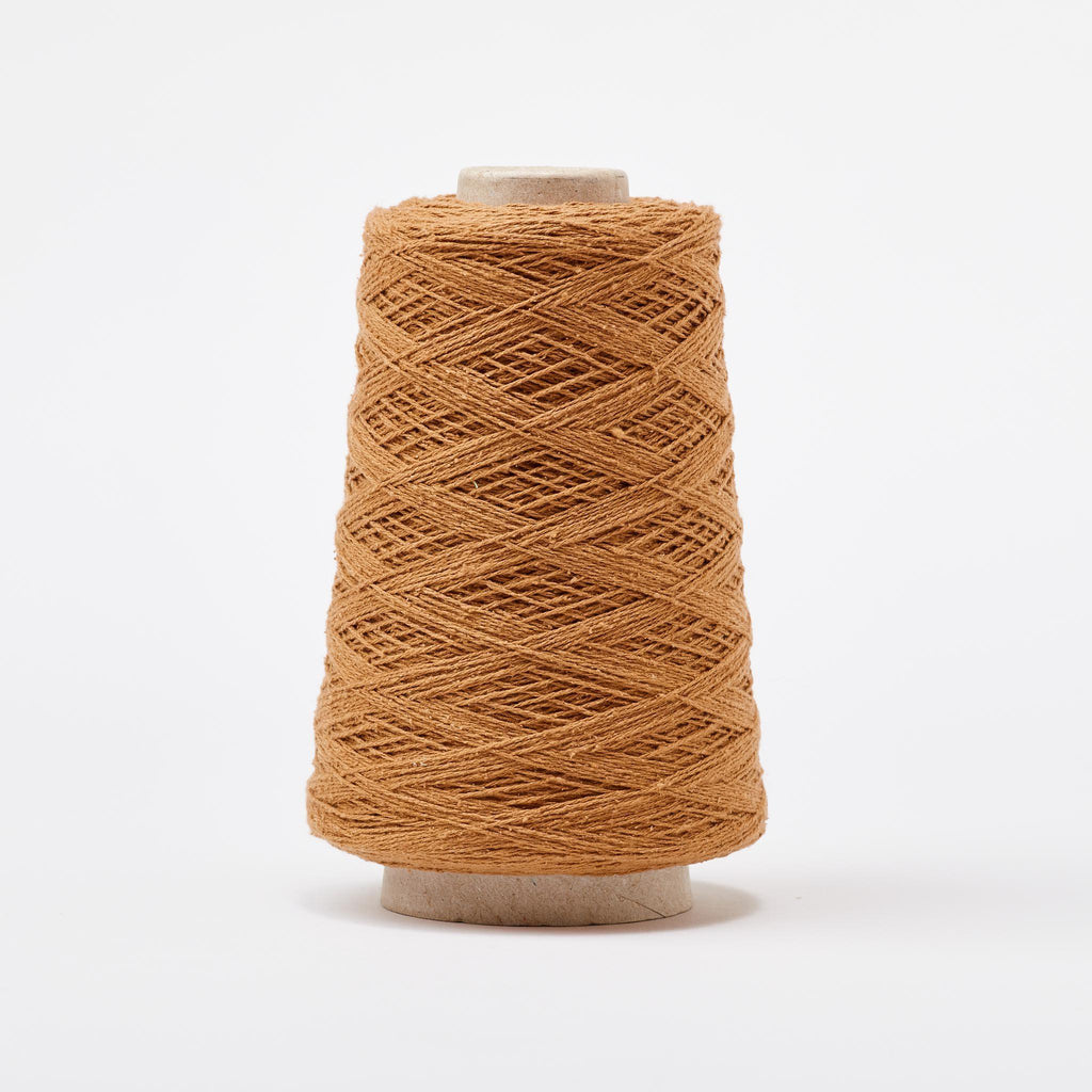 Italian Silk Noil Weaving Yarn ~ Camel