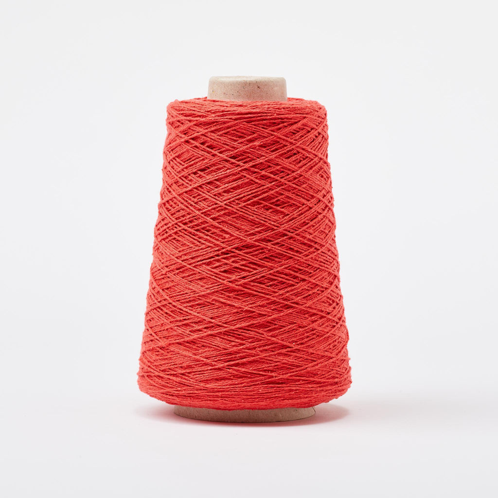 Italian Silk Noil Weaving Yarn Cherry