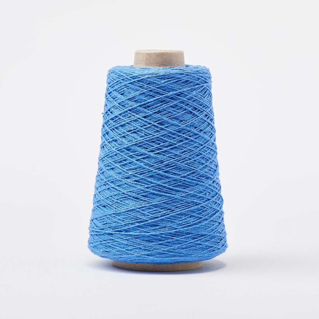 Italian Silk Noil Weaving Yarn Denim