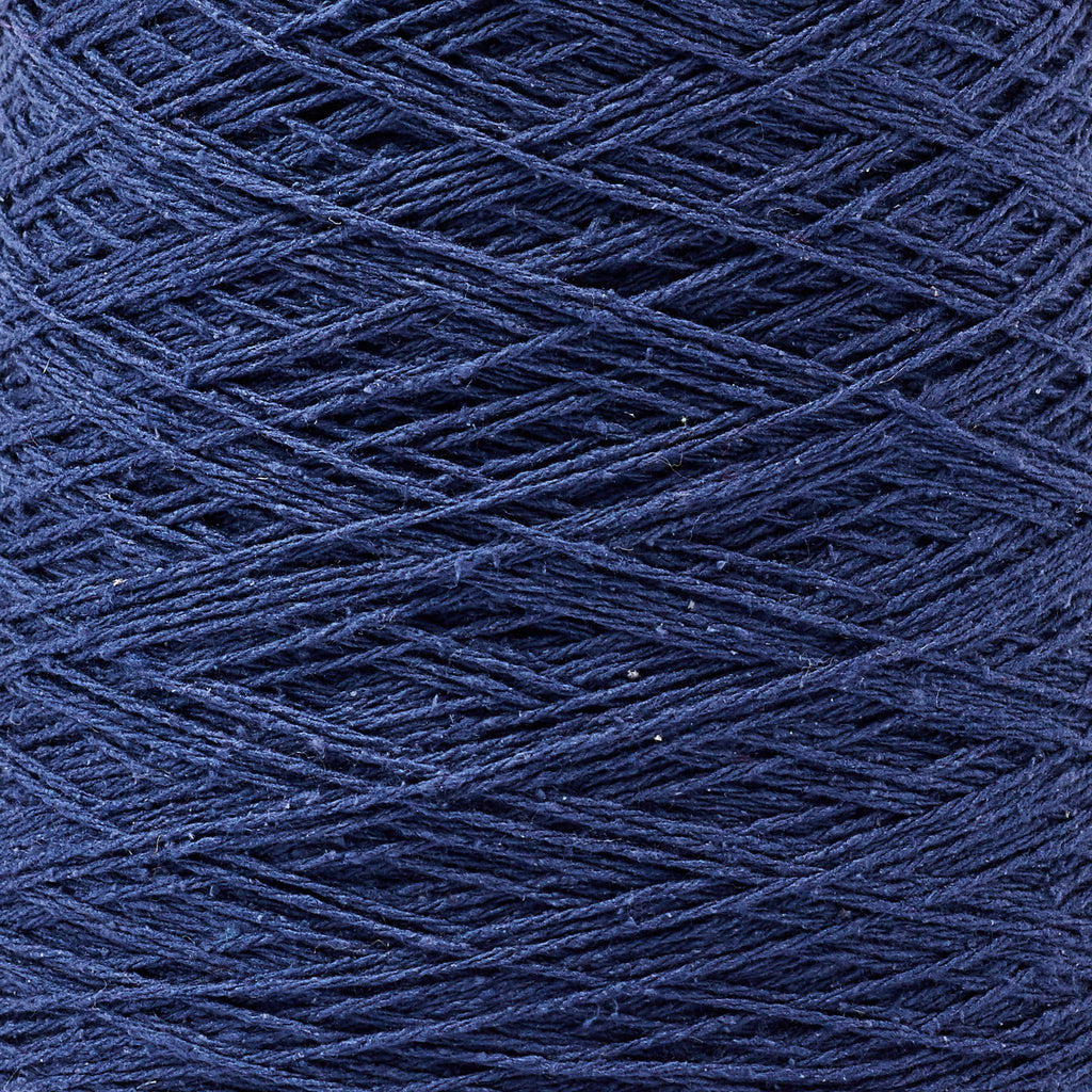 Italian Silk Noil Weaving Yarn Midnight