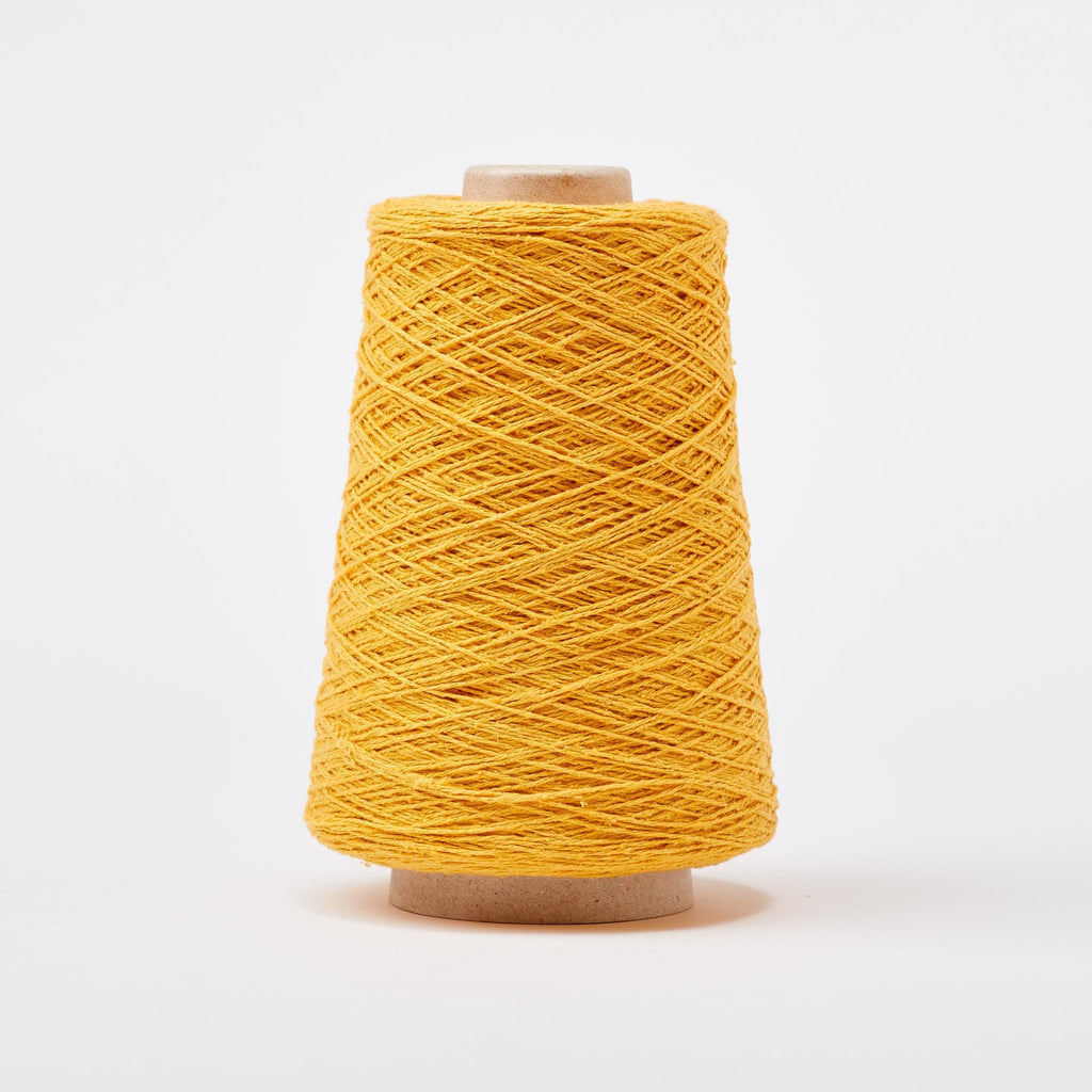 Italian Silk Noil Weaving Yarn Sunshine