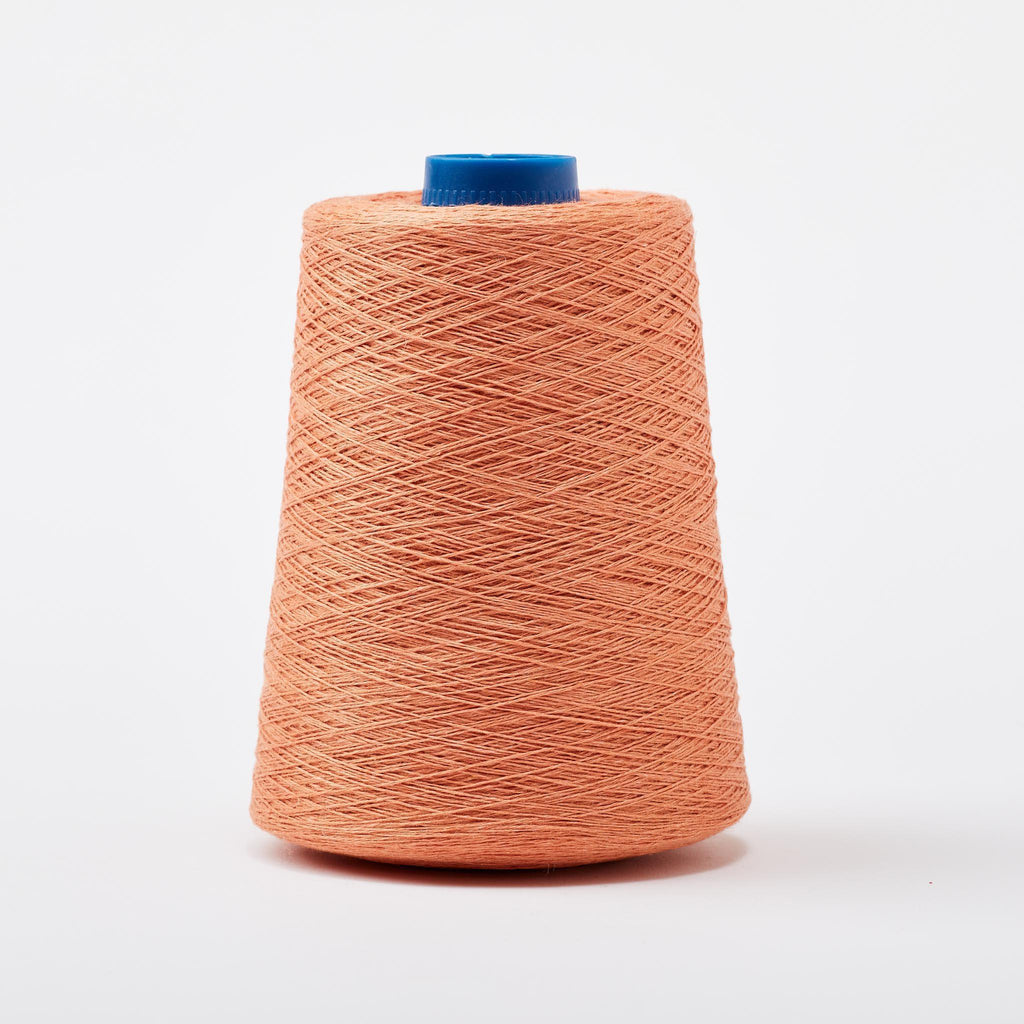 Linen Weaving Yarn Salmon