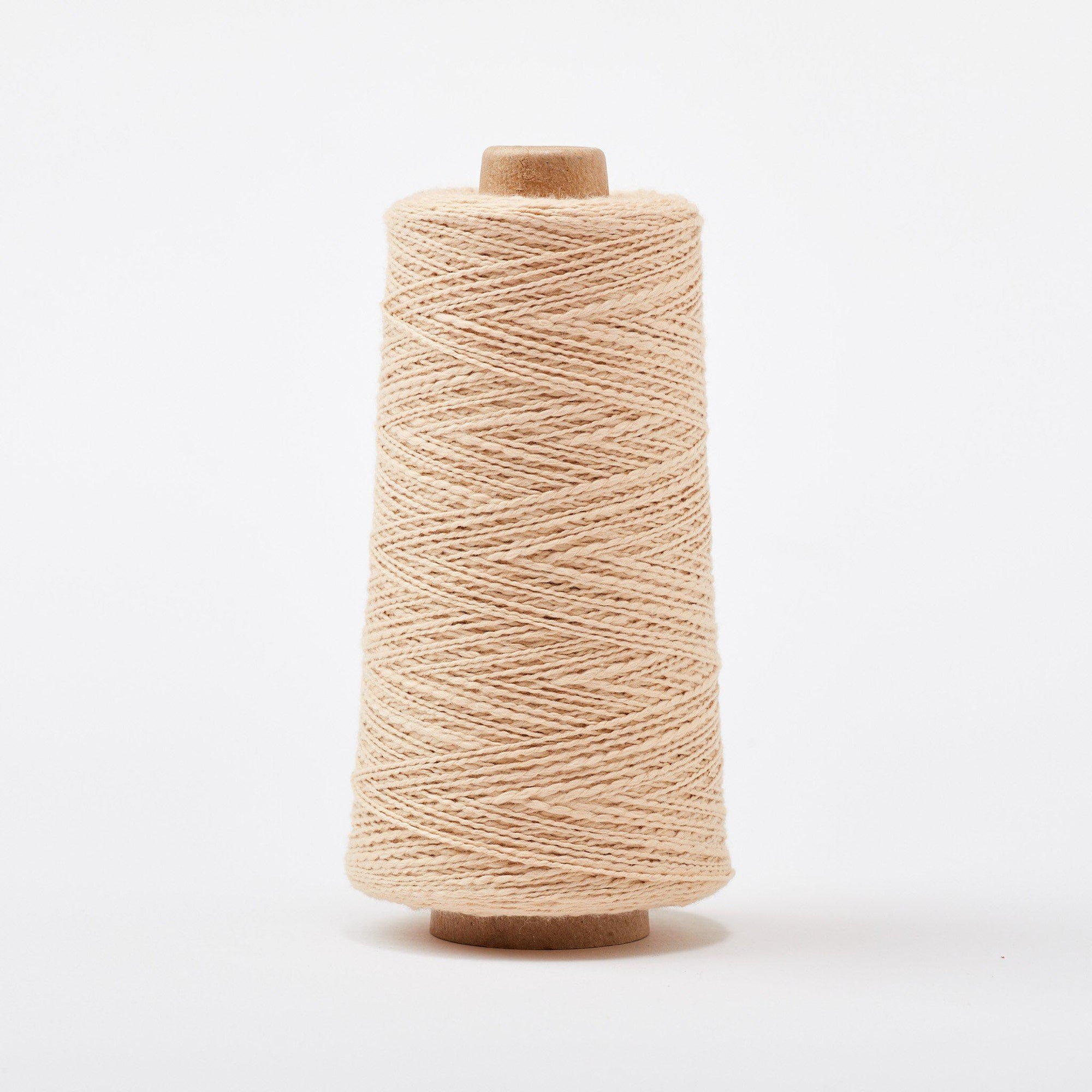 Mallo Cotton Slub Weaving Yarn Clay