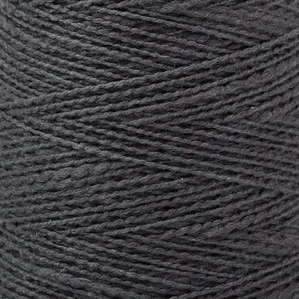 Mallo Cotton Slub Weaving Yarn Coal